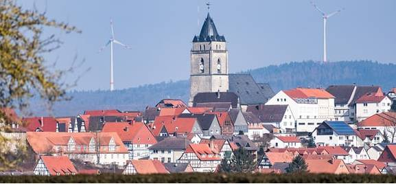slate and tile roofs in Germany, not asphalt shingle